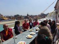 01 Treffen mit Sherpa-Familien in Kathmandu