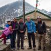 17 Familie von Chhring Sherpa in Khumjung