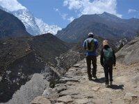 17 Trek nach Tarange mit der Tochter von Dorji Sherpa 1