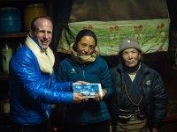 21 Familie von Then Dorjee Sherpa in Khumjung