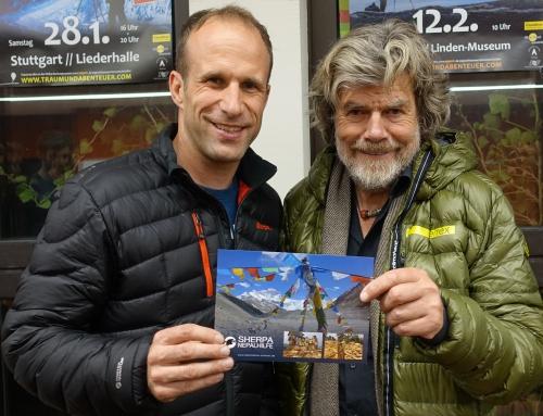 """15.11.2016 """"Begegnung mit Reinhold Messner"""""""