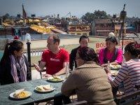 03 Treffen mit Sherpa-Familien in Kathmandu