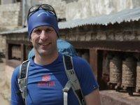 11 Matthias Baumann in Namche Bazar
