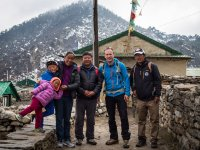 17 Familie von Chhring Sherpa in Khumjung