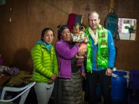 19 Familie von Lakpa Sherpa in Khumjung